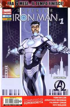 Copertina IRON MAN n.26 - SUPERIOR IRON MAN, MARVEL ITALIA