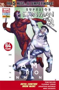 Copertina IRON MAN n.27 - SUPERIOR IRON MAN, MARVEL ITALIA