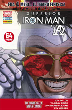 Copertina IRON MAN n.28 - SUPERIOR IRON MAN, MARVEL ITALIA