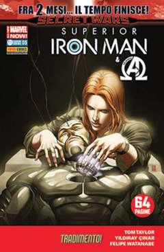 Copertina IRON MAN n.30 - SUPERIOR IRON MAN, MARVEL ITALIA