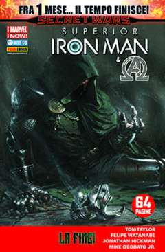 Copertina IRON MAN n.31 - SUPERIOR IRON MAN, MARVEL ITALIA