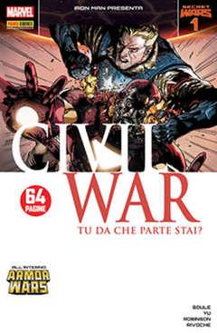Copertina IRON MAN n.33 - CIVIL WAR 1, MARVEL ITALIA