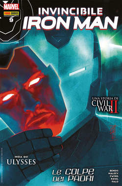 Copertina IRON MAN n.45 - CIVIL WAR II, MARVEL ITALIA