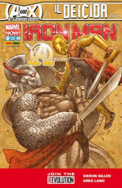 Copertina IRON MAN n.6 - IRON MAN & NEW AVENGERS, MARVEL ITALIA