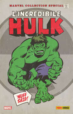 Copertina MARVEL COLLECTION SP. + cofan. n.1 - L'INCREDIBILE HULK 1 (m4) + cofanetto, MARVEL ITALIA