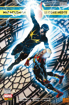 Copertina MARVEL COLLECTION SPECIAL n.16 - SPECIALE MIRACLEMAN: LE STORIE INEDITE, MARVEL ITALIA