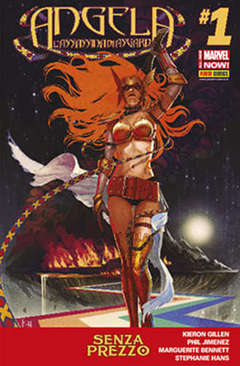 Copertina MARVEL COLLECTION SPECIAL n.17 - ANGELA: L'ASSASSINA DI ASGARD 1, MARVEL ITALIA