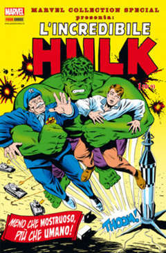 Copertina MARVEL COLLECTION SPECIAL n.4 - L'INCREDIBILE HULK 1 (m4), MARVEL ITALIA