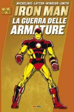 Copertina MARVEL GOLD n.10 - IRON MAN: LA GUERRA DELLE ARMATURE, MARVEL ITALIA