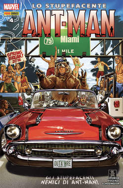 Copertina MARVEL HEROES n.8 - LO STUPEFACENTE ANT-MAN 4, MARVEL ITALIA