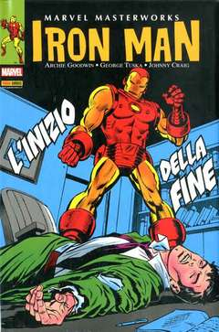 Copertina MARVEL MASTERWORKS n.28 - IRON MAN 5, MARVEL ITALIA