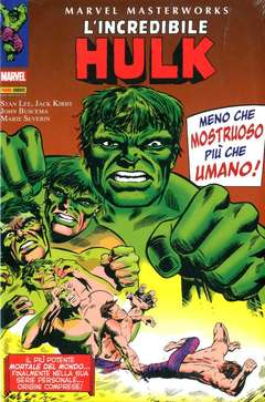 Copertina MARVEL MASTERWORKS n.39 - L'INCREDIBILE HULK 3, MARVEL ITALIA