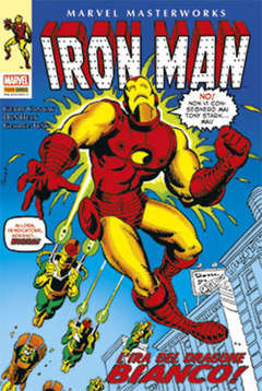 Copertina MARVEL MASTERWORKS n.50 - IRON MAN 7, MARVEL ITALIA