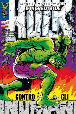 Copertina MARVEL MASTERWORKS n.55 - L'INCREDIBILE HULK 4, MARVEL ITALIA