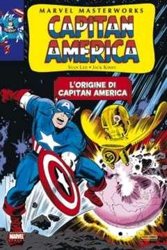 Copertina MARVEL MASTERWORKS n.9 - CAPITAN AMERICA 1 (1964-66), MARVEL ITALIA