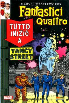 Copertina MARVEL MASTERWORKS ristampa n.16 - FANTASTICI QUATTRO 3, MARVEL ITALIA