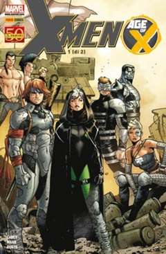 Copertina MARVEL MEGA n.74 - X-MEN: AGE OF X 1 (m2), MARVEL ITALIA