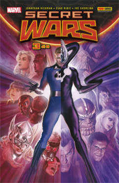 Copertina MARVEL MINISERIE n.166 - SECRET WARS 3, MARVEL ITALIA
