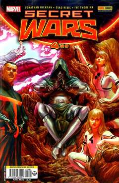 Copertina MARVEL MINISERIE n.167 - SECRET WARS 4, MARVEL ITALIA