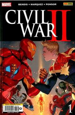 Copertina MARVEL MINISERIE n.176 - CIVIL WAR II 1, MARVEL ITALIA