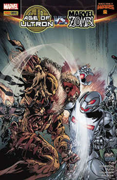 Copertina MARVEL MIX n.115 - AGE OF ULTRON VS MARVEL ZOMBI 2, MARVEL ITALIA