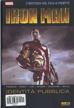 Copertina MARVEL SPECIAL nuova serie n.2 - MARVEL MOVIE: IRON MAN - IDENTITA' PUBBLICA, MARVEL ITALIA
