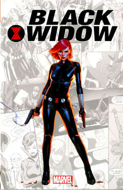 Copertina MARVEL-VERSE n.1 - BLACK WIDOW, MARVEL ITALIA