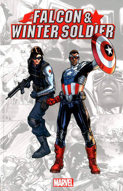 Copertina MARVEL-VERSE n.2 - FALCON & WINTER SOLDIER, MARVEL ITALIA