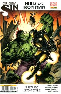 Copertina MARVEL WORLD n.27 - ORIGINAL SIN: HULK VS. IRON MAN, MARVEL ITALIA