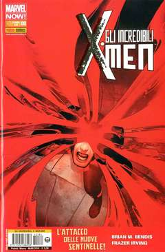Copertina X-MEN n.284 - GLI INCREDIBILI X-MEN 6, MARVEL ITALIA