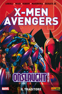 Copertina X-MEN & AVENGERS ONSLAUGHT m5 n.1 - X-MEN & AVENGERS ONSLAUGHT COLLECTION, MARVEL ITALIA