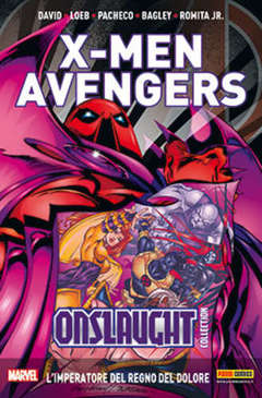 Copertina X-MEN & AVENGERS ONSLAUGHT m5 n.2 - X-MEN & AVENGERS: ONSLAUGHT COLLECTION, MARVEL ITALIA