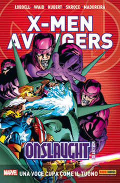 Copertina X-MEN & AVENGERS ONSLAUGHT m5 n.3 - X-MEN & AVENGERS: ONSLAUGHT COLLECTION, MARVEL ITALIA