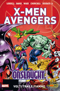 Copertina X-MEN & AVENGERS ONSLAUGHT m5 n.4 - X-MEN & AVENGERS: ONSLAUGHT COLLECTION, MARVEL ITALIA