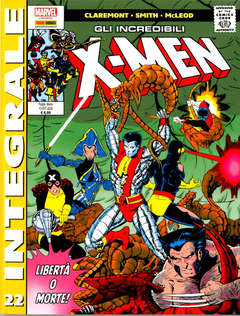 Copertina X-MEN DI CHRIS CLAREMONT n.22 - GLI INCREDIBILI X-MEN, MARVEL ITALIA