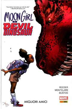 Copertina MOON GIRL & DEVIL DINOSAUR n.1 - MOON GIRL & DEVIL DINOSAUR, MARVEL ITALIA