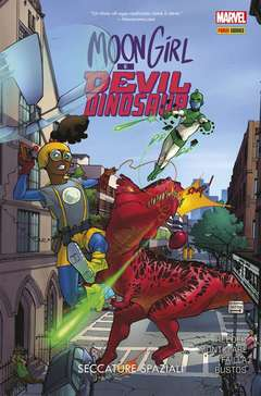 Copertina MOON GIRL & DEVIL DINOSAUR n.2 - SECCATURE SPAZIALI, MARVEL ITALIA