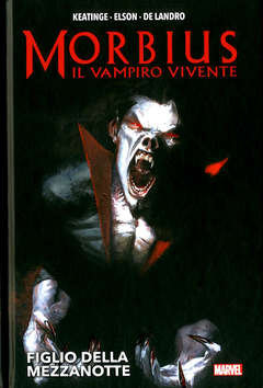 Copertina MORBIUS IL VAMPIRO VIVENTE n. - MORBIUS IL VAMPIRO VIVENTE, MARVEL ITALIA