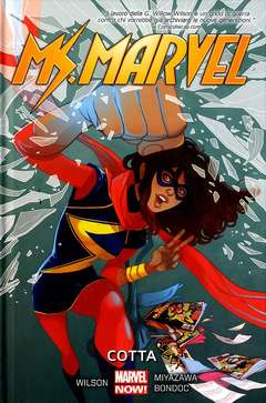 Copertina MS. MARVEL n.3 - COTTA, MARVEL ITALIA