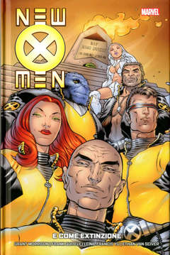 Copertina NEW X-MEN COLLECTION n.1 - E COME EXTINZIONE, MARVEL ITALIA
