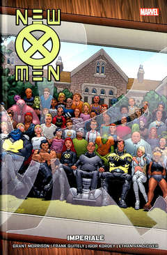 Copertina NEW X-MEN COLLECTION n.2 - IMPERIALE, MARVEL ITALIA