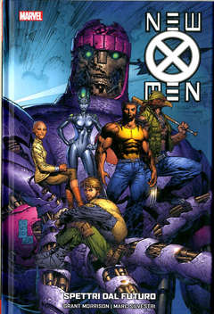 Copertina NEW X-MEN COLLECTION n.7 - SPETTRI DAL FUTURO, MARVEL ITALIA