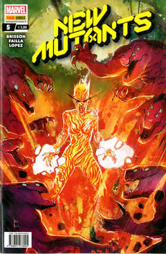Copertina NEW MUTANTS n.5 - NEW MUTANTS, MARVEL ITALIA