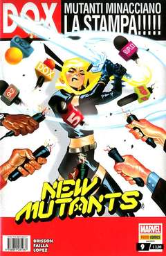 Copertina NEW MUTANTS n.9 - NEW MUTANTS, MARVEL ITALIA