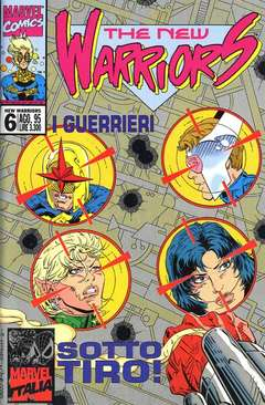 MARVEL ITALIA - NEW WARRIORS M6