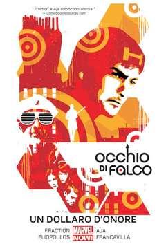 Copertina OCCHIO DI FALCO n.4 - UN DOLLARO D'ONORE, MARVEL ITALIA