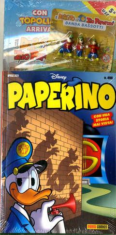 Copertina PAPERINO MESE #490 Variant n. - CON GADGET ESCLUSIVO, MARVEL ITALIA