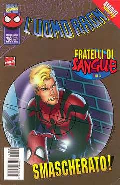 Copertina SPIDER-MAN n.209 - UOMO RAGNO 209, MARVEL ITALIA
