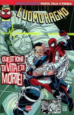Copertina SPIDER-MAN n.217 - L'UOMO RAGNO, MARVEL ITALIA