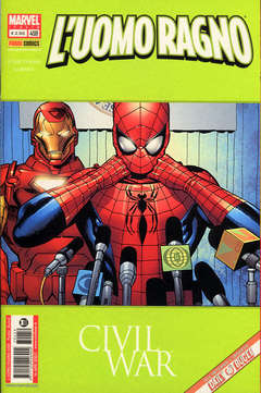 Copertina SPIDER-MAN n.459 - CIVIL WAR, MARVEL ITALIA